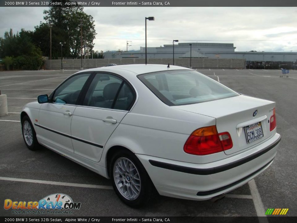 2000 bmw 3 series 328i sedan alpine white grey photo 8. Black Bedroom Furniture Sets. Home Design Ideas