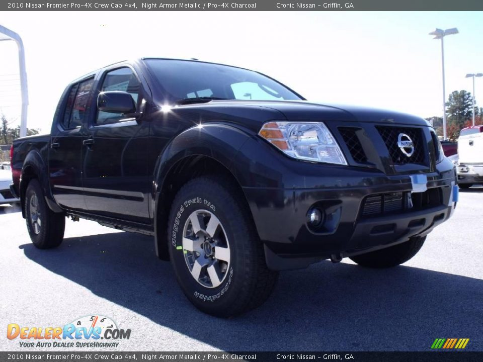 2010 nissan frontier pro 4x crew cab 4x4 night armor metallic pro 4x charcoal photo 7. Black Bedroom Furniture Sets. Home Design Ideas