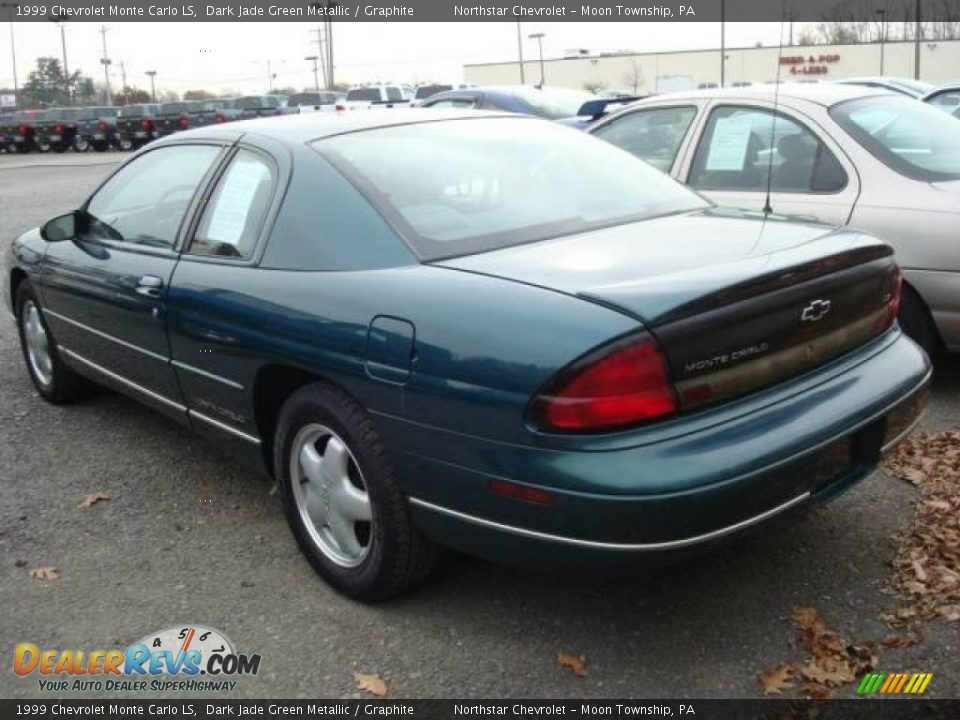 1999 chevrolet monte carlo ls dark jade green metallic. Black Bedroom Furniture Sets. Home Design Ideas
