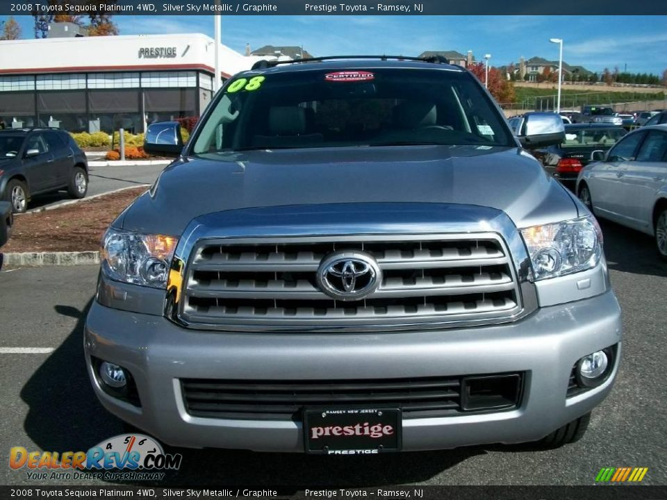 2008 toyota sequoia platinum 4wd silver sky metallic. Black Bedroom Furniture Sets. Home Design Ideas
