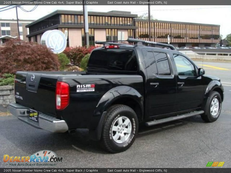 2005 nissan frontier nismo crew cab 4x4 super black. Black Bedroom Furniture Sets. Home Design Ideas