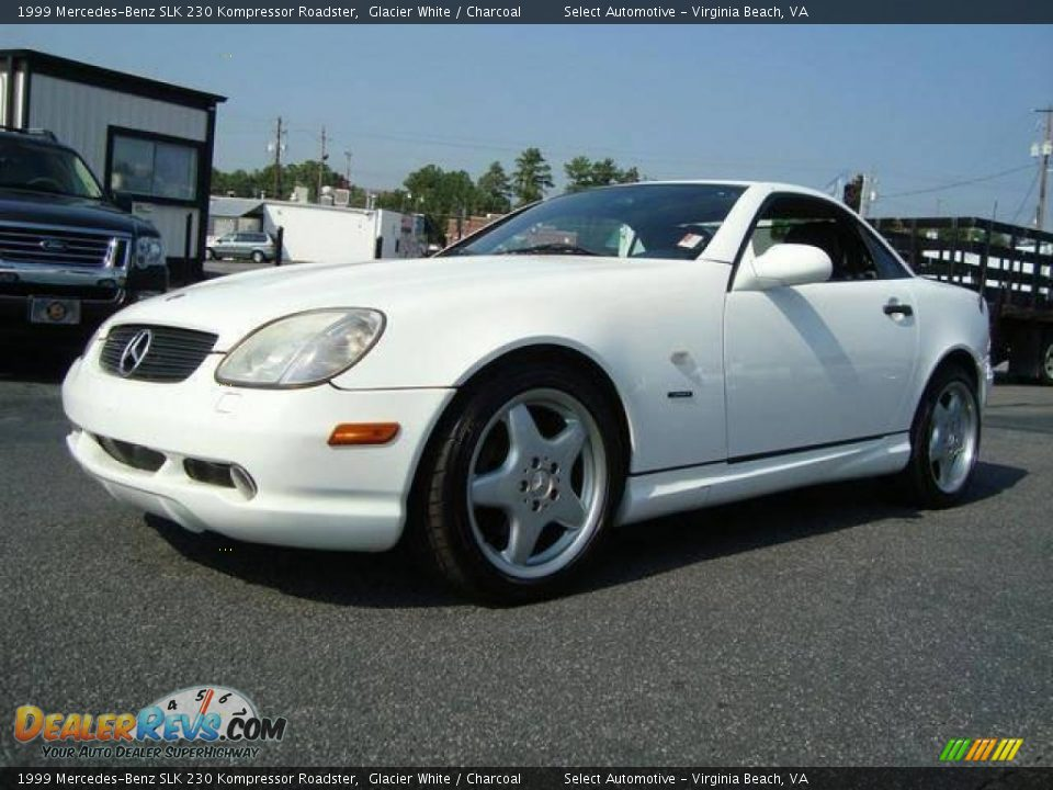 1999 mercedes benz slk 230 kompressor roadster glacier. Black Bedroom Furniture Sets. Home Design Ideas