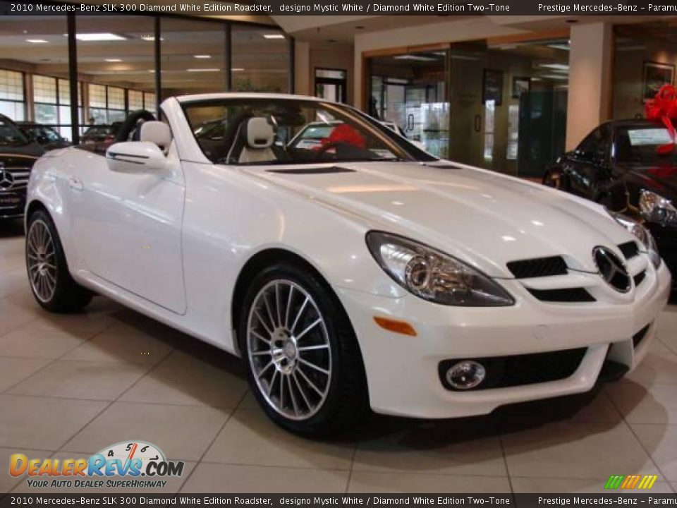 2010 mercedes benz slk 300 diamond white edition roadster for 2010 mercedes benz slk300