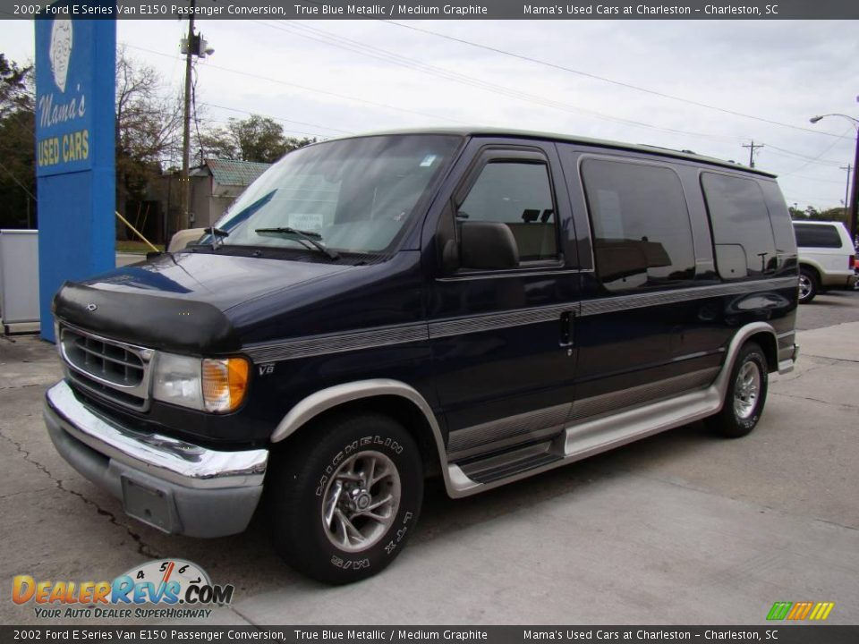 2002 Ford E Series Van E150 Passenger Conversion True Blue