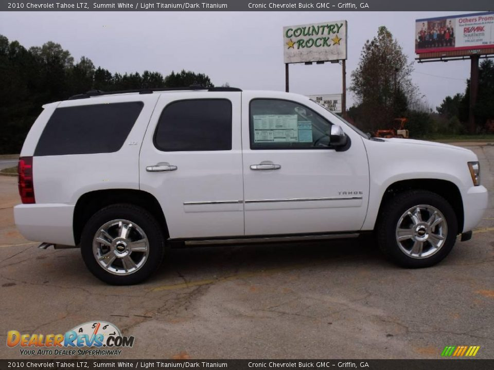 Used Chevy Tahoe >> 2010 Chevrolet Tahoe LTZ Summit White / Light Titanium ...