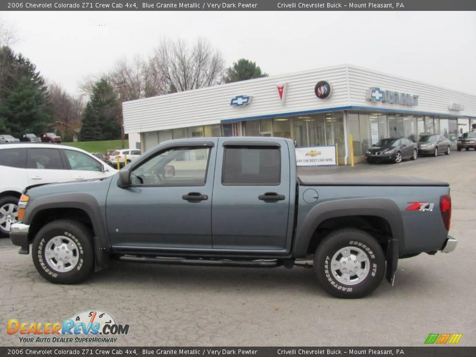 2006 chevrolet colorado z71 crew cab 4x4 blue granite metallic very dark pewter photo 2. Black Bedroom Furniture Sets. Home Design Ideas