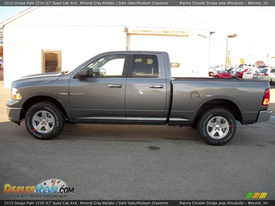 2010 dodge ram 1500 slt quad cab 4x4 mineral gray metallic dark slate medium graystone photo. Black Bedroom Furniture Sets. Home Design Ideas