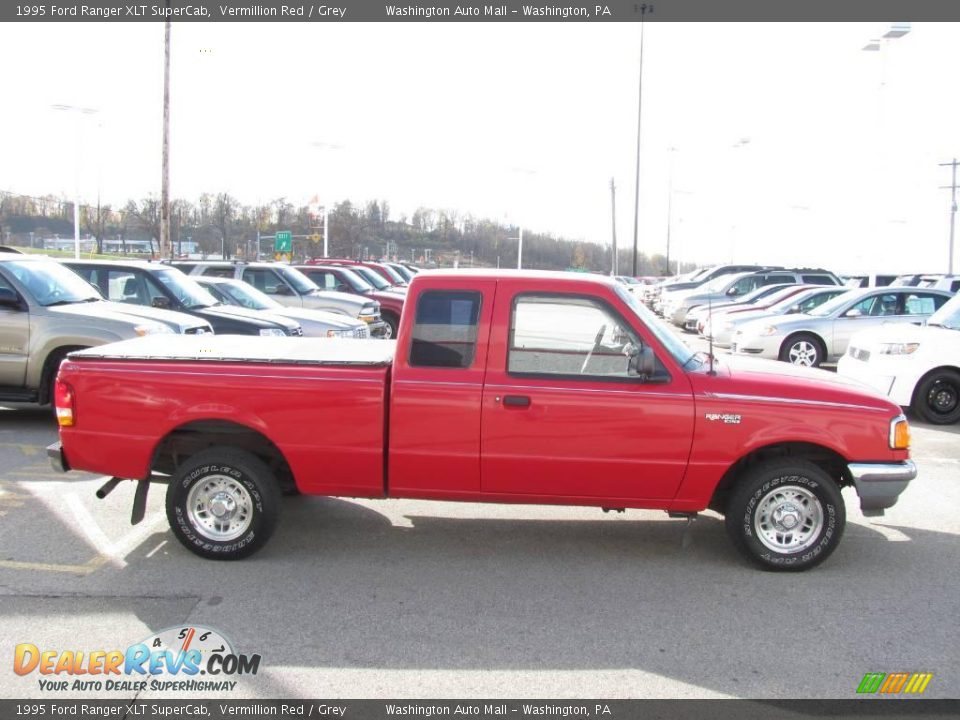 1995 Ford Ranger Xlt Supercab Vermillion Red Grey Photo
