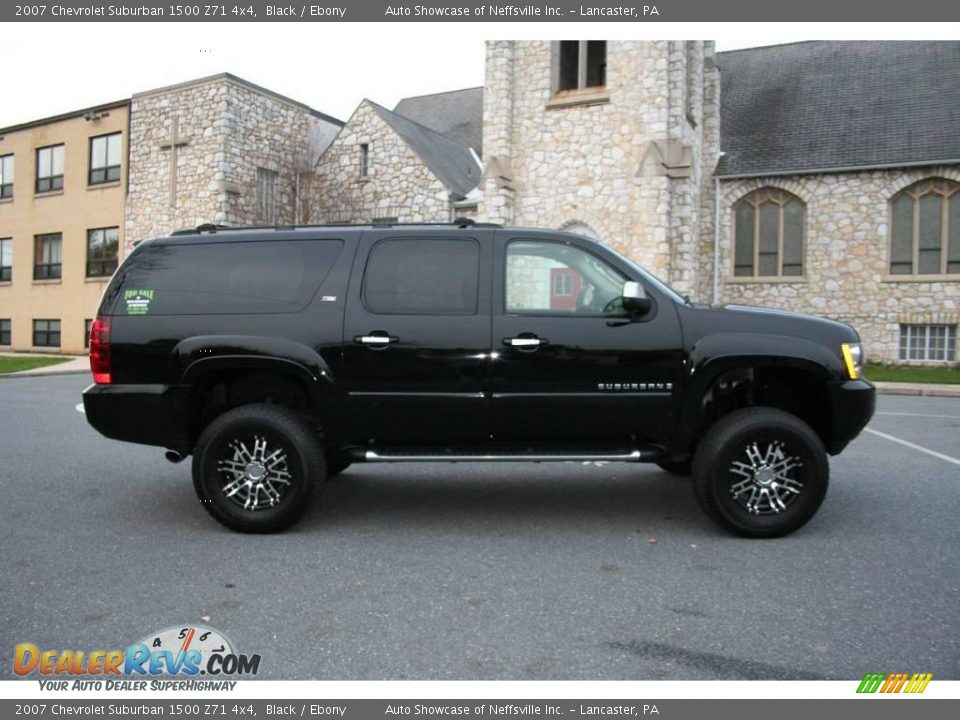 2007 chevrolet suburban 1500 z71 4x4 black ebony photo. Black Bedroom Furniture Sets. Home Design Ideas