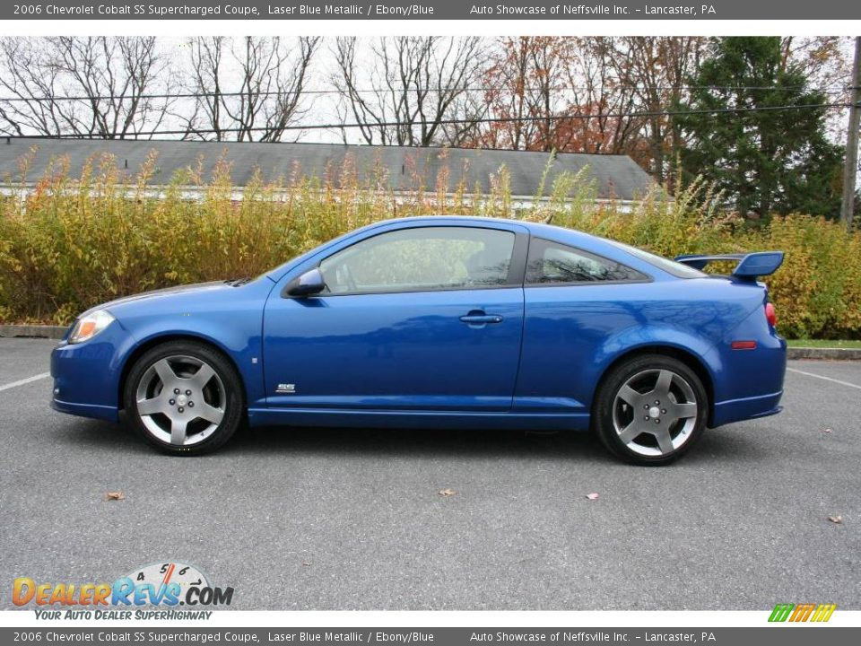 2006 chevrolet cobalt ss supercharged coupe laser blue metallic ebony blue photo 3. Black Bedroom Furniture Sets. Home Design Ideas
