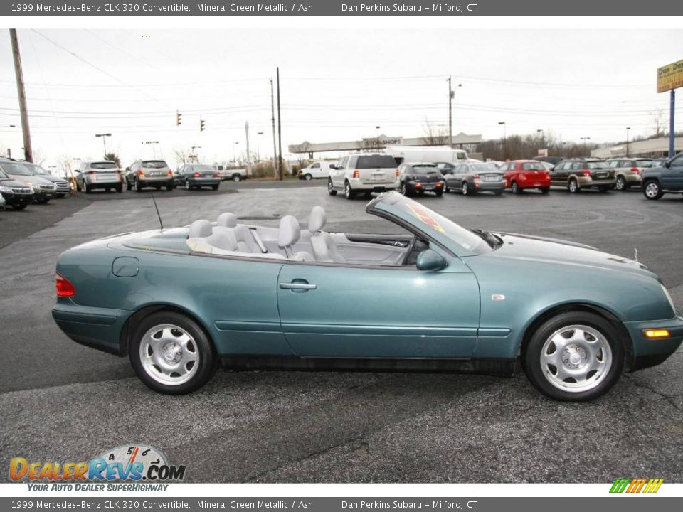 1999 mercedes benz clk 320 convertible mineral green for 1999 mercedes benz clk320