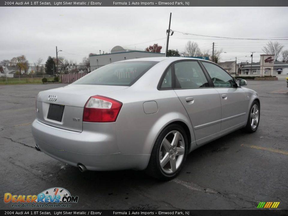 2004 Audi A4 1 8t Sedan Light Silver Metallic Ebony