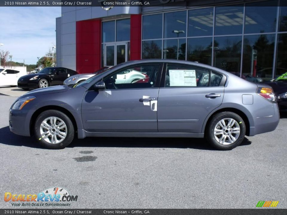 2010 Nissan Altima 2 5 S Ocean Gray Charcoal Photo 2