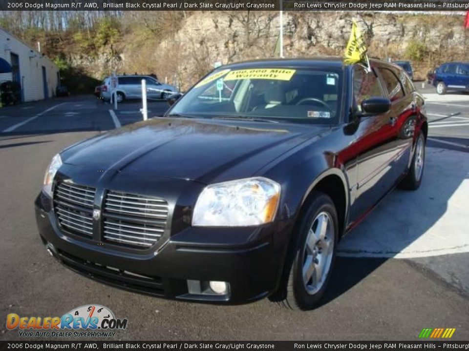 2006 Dodge Magnum R/T AWD Brilliant Black Crystal Pearl / Dark Slate ...