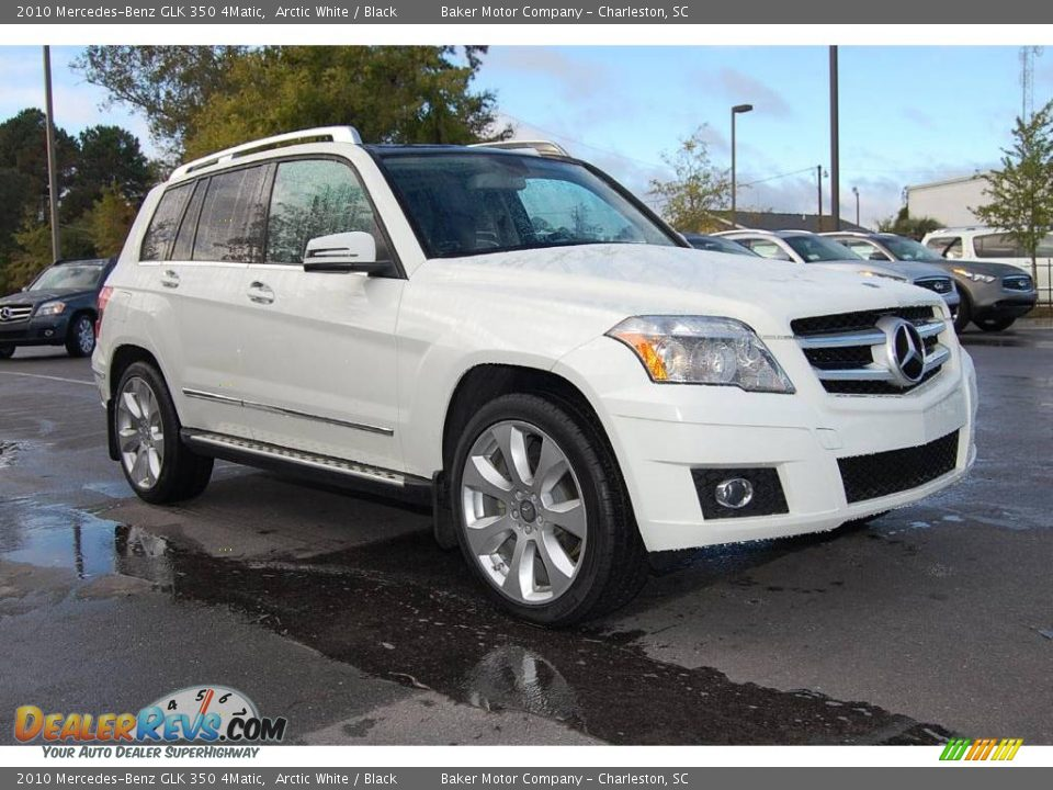 2010 mercedes benz glk 350 4matic arctic white black for 2010 mercedes benz glk