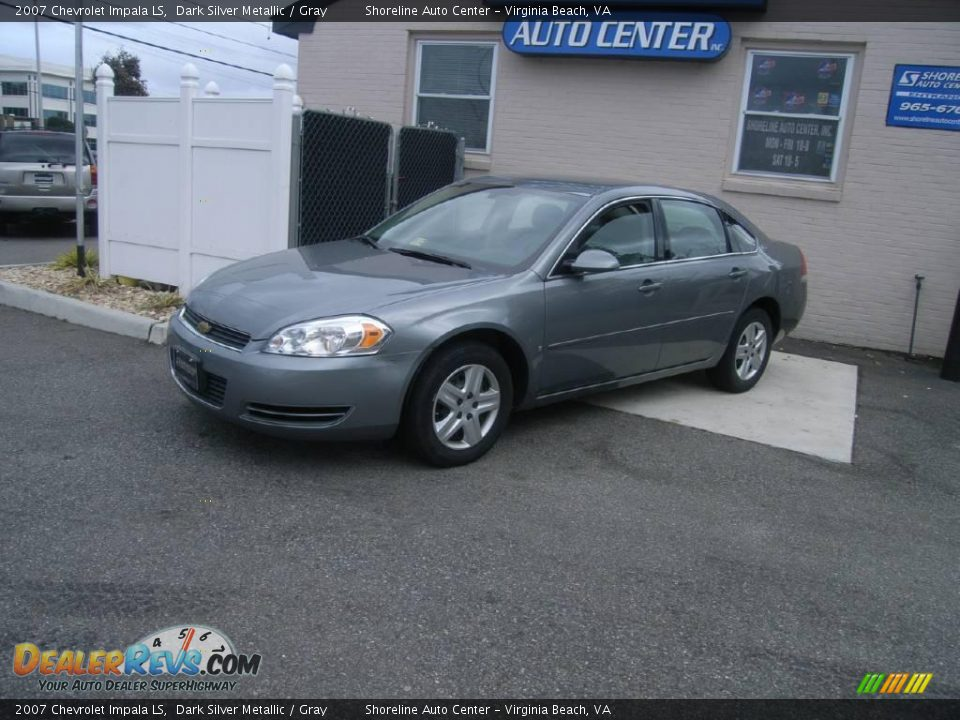 2007 Chevrolet Impala Ls Dark Silver Metallic Gray Photo