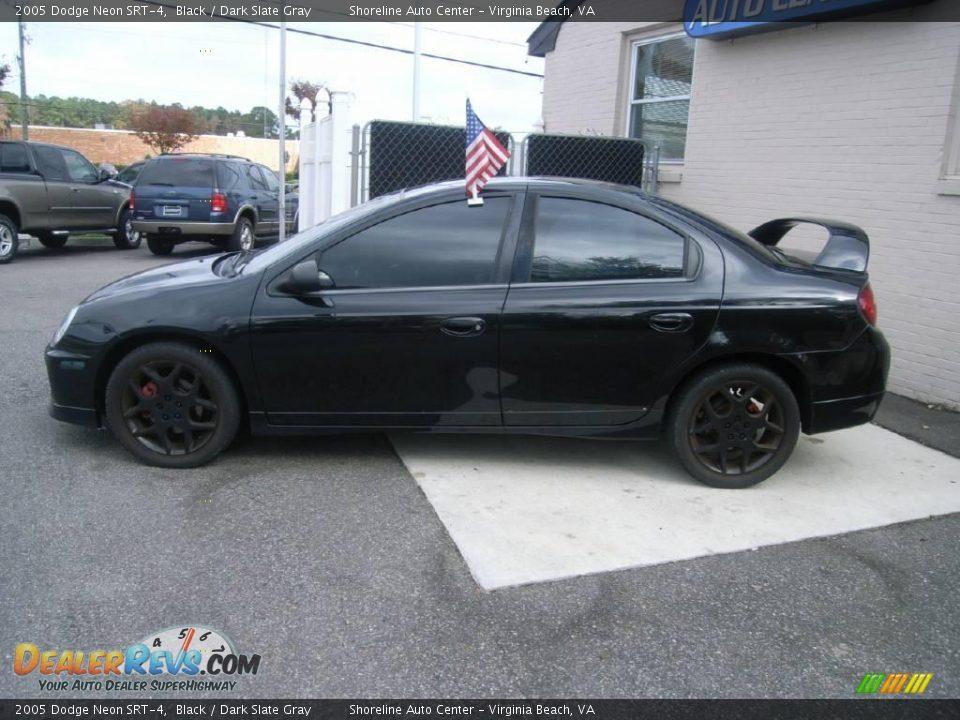 2005 Dodge Neon SRT-4 Black / Dark Slate Gray Photo #4 | DealerRevs ...