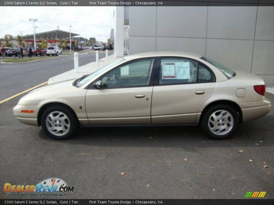 2000 saturn s series sl2 sedan gold tan photo 2. Black Bedroom Furniture Sets. Home Design Ideas