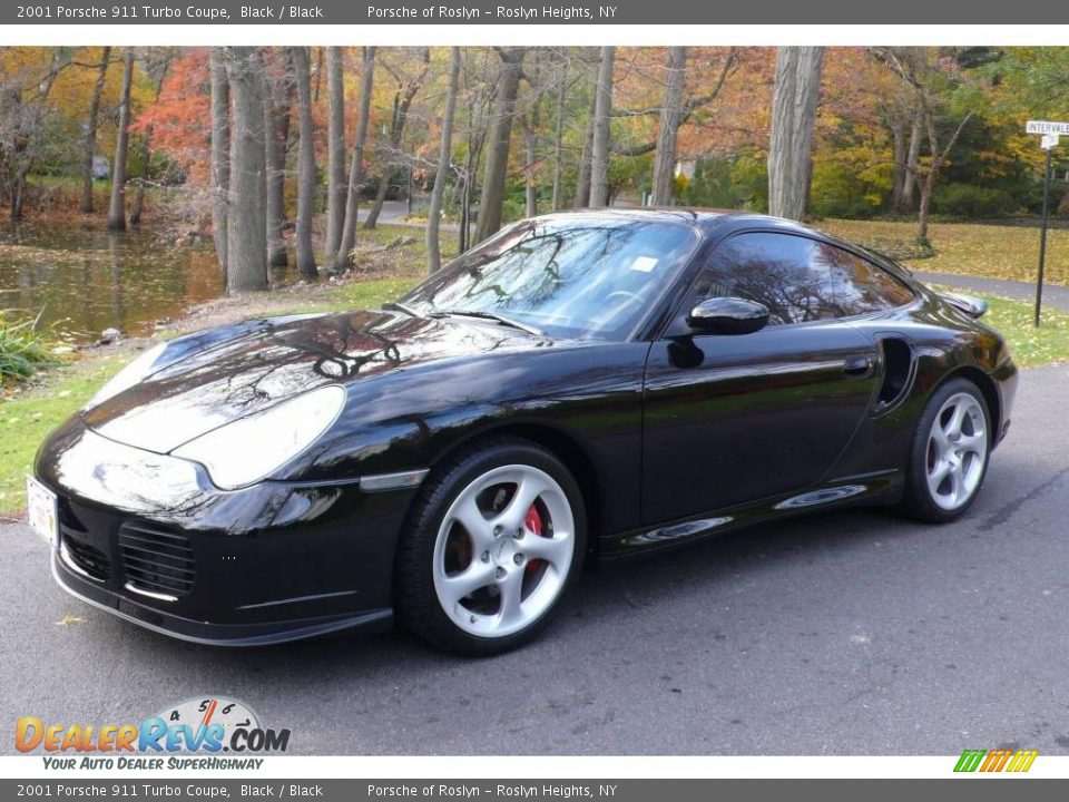 2001 porsche 911 turbo coupe black black photo 1. Black Bedroom Furniture Sets. Home Design Ideas
