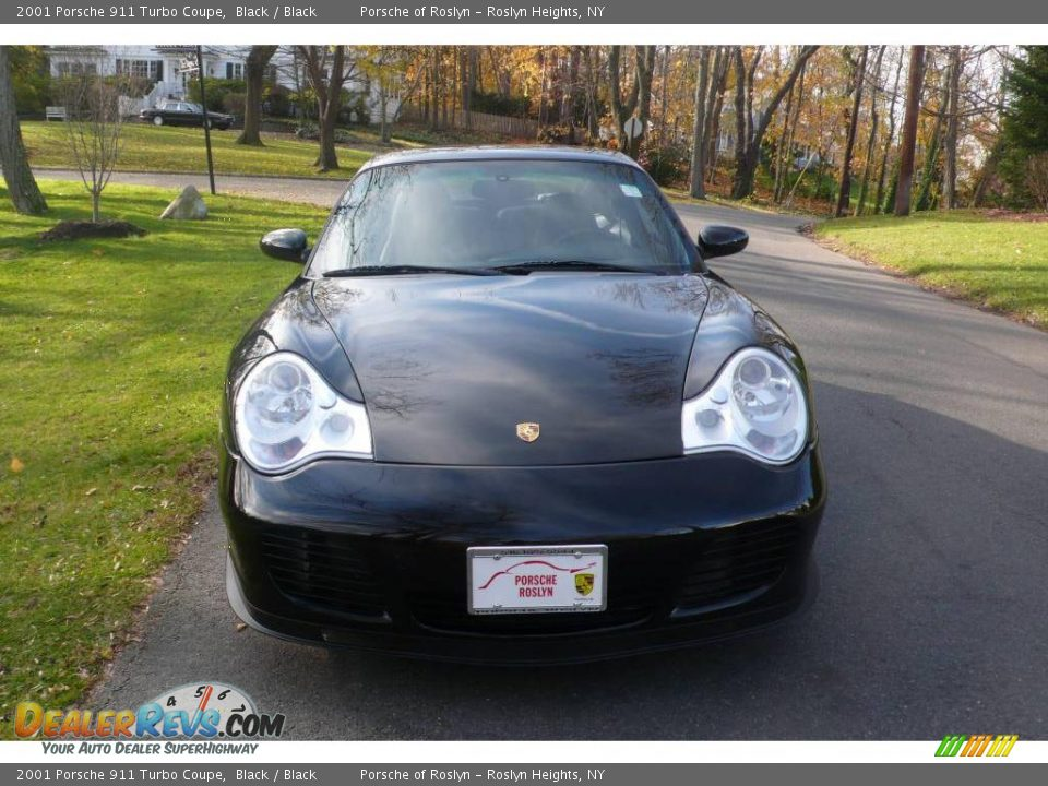 2001 porsche 911 turbo coupe black black photo 2. Black Bedroom Furniture Sets. Home Design Ideas