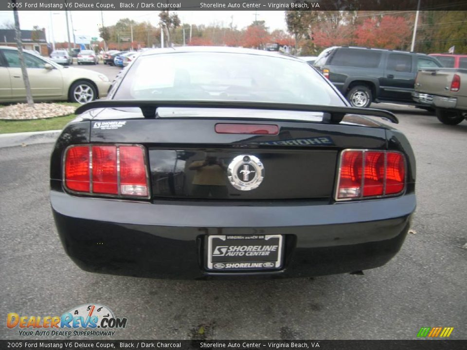 2005 ford mustang v6 deluxe coupe black dark charcoal photo 5. Black Bedroom Furniture Sets. Home Design Ideas
