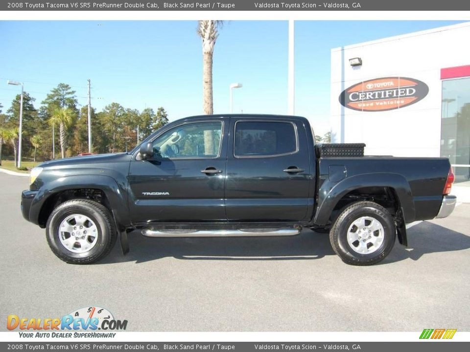 2008 toyota tacoma v6 sr5 prerunner double cab black sand pearl taupe photo 4. Black Bedroom Furniture Sets. Home Design Ideas