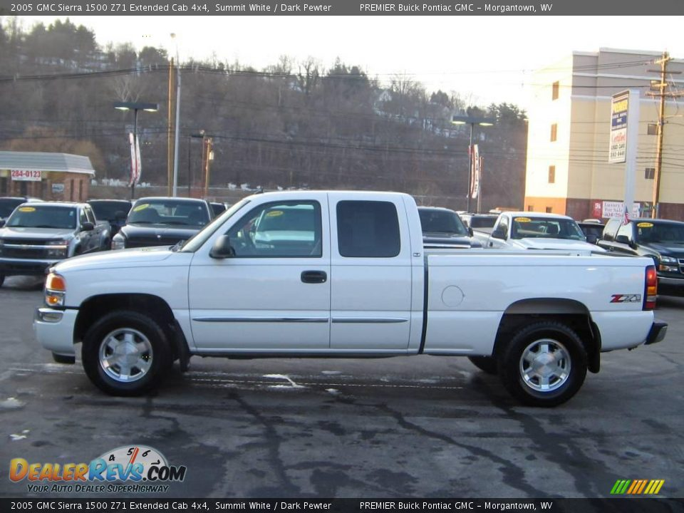 2005 gmc sierra 1500 z71 extended cab 4x4 summit white dark pewter photo 3. Black Bedroom Furniture Sets. Home Design Ideas