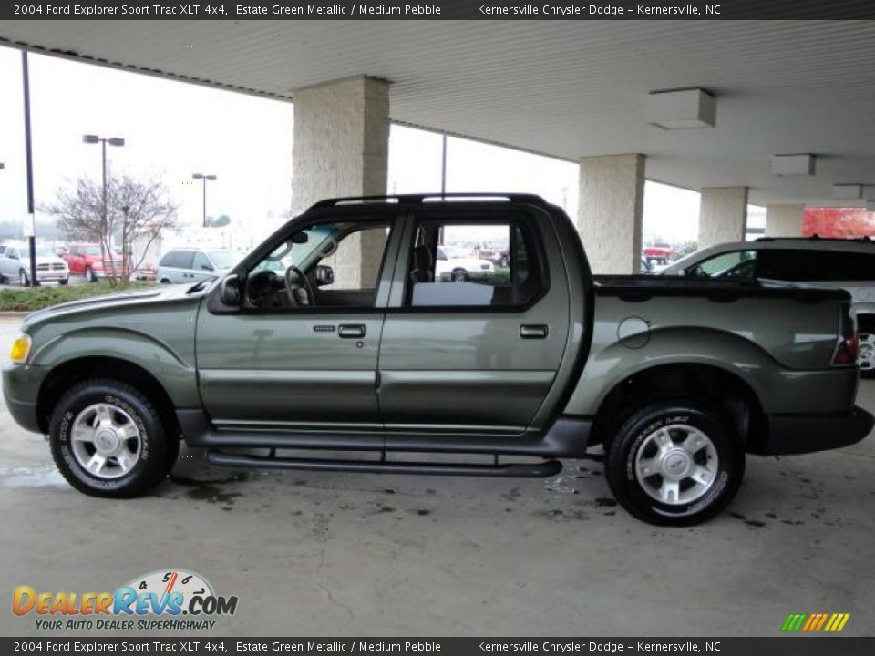 2004 ford explorer sport trac xlt 4x4 estate green metallic medium pebble photo 2. Black Bedroom Furniture Sets. Home Design Ideas