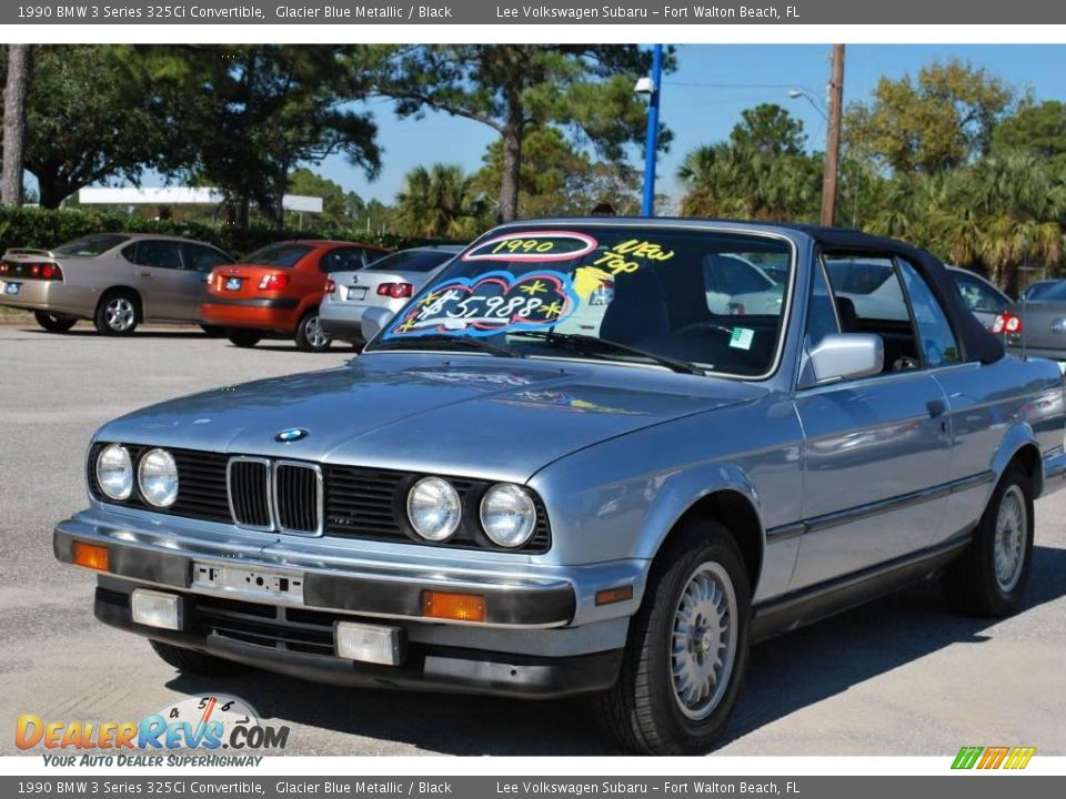 1990 Bmw 3 Series 325ci Convertible Glacier Blue Metallic