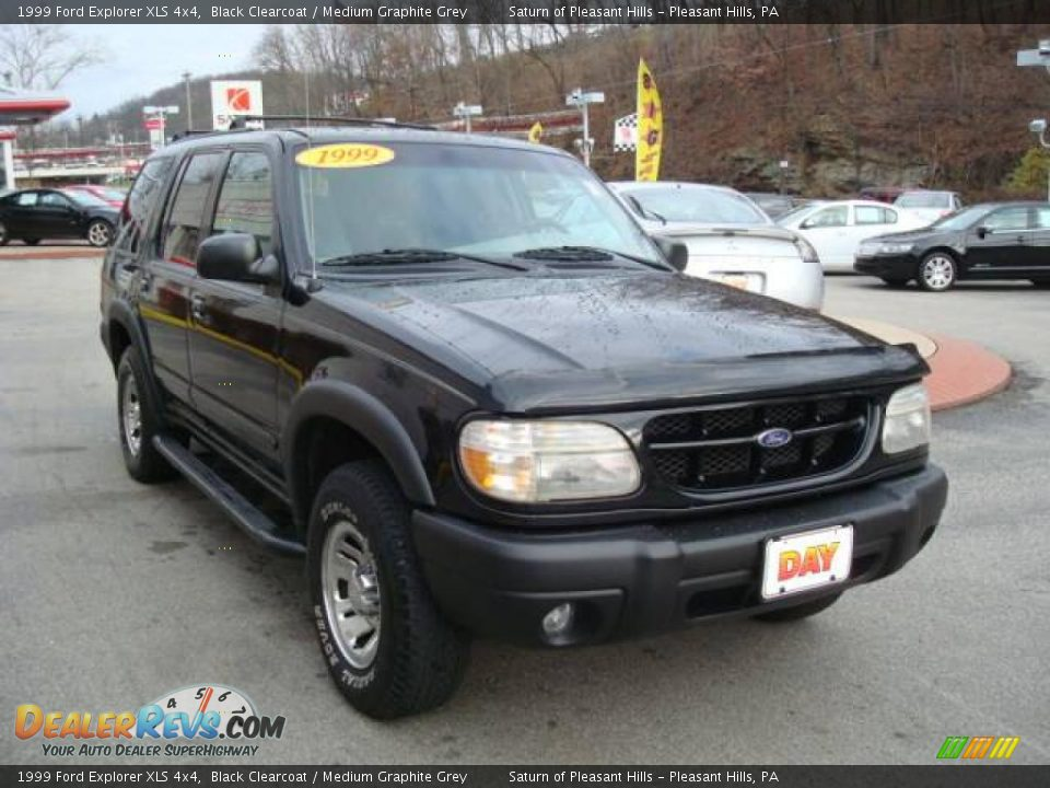 1999 Ford Explorer Xls 4x4 Black Clearcoat Medium