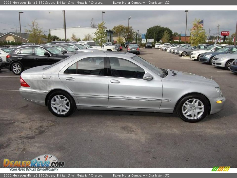 2006 mercedes benz s 350 sedan brilliant silver metallic. Black Bedroom Furniture Sets. Home Design Ideas