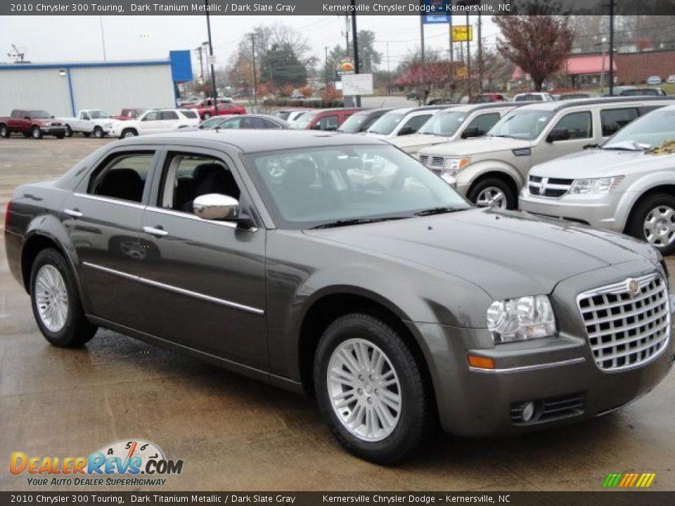 2010 Chrysler 300 Touring Dark Titanium Metallic Dark