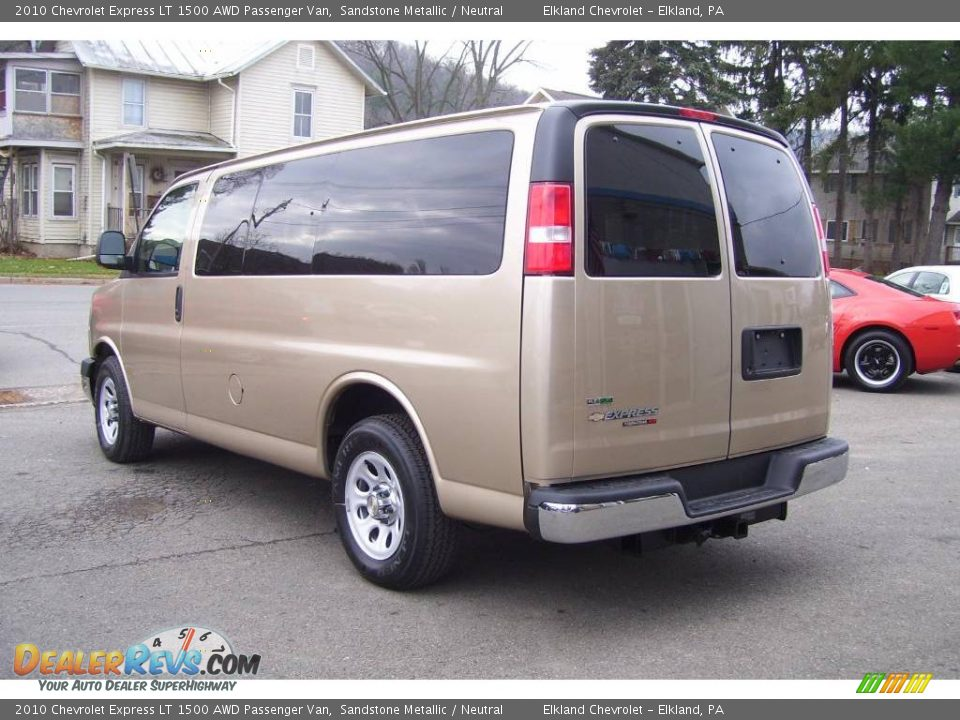 2010 chevrolet express lt 1500 awd passenger van sandstone metallic neutral photo 7. Black Bedroom Furniture Sets. Home Design Ideas