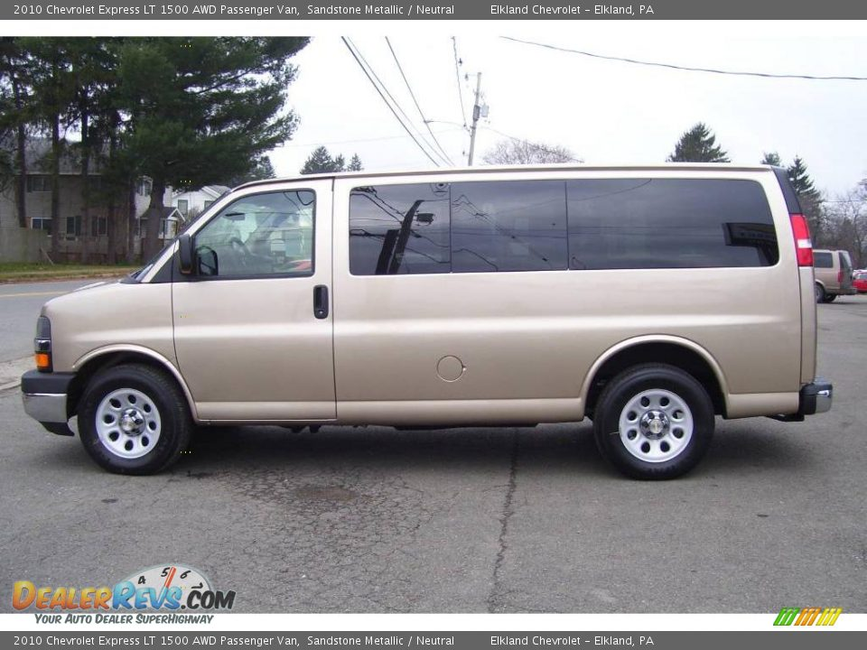 2010 chevrolet express lt 1500 awd passenger van sandstone metallic neutral photo 8. Black Bedroom Furniture Sets. Home Design Ideas