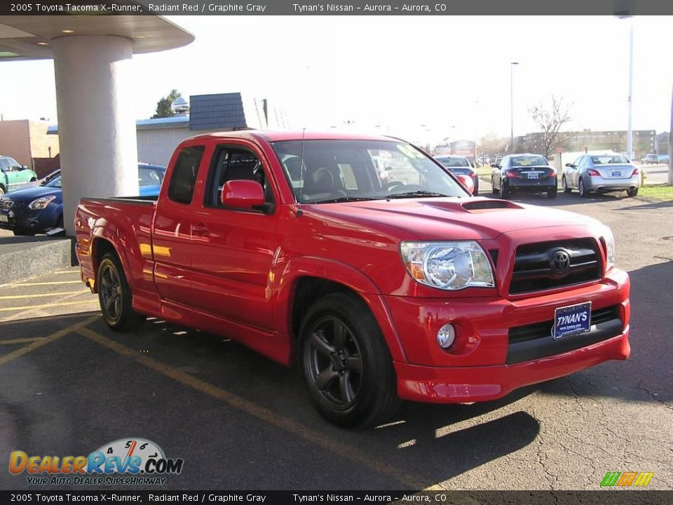 2005 toyota tacoma x runner radiant red graphite gray photo 3. Black Bedroom Furniture Sets. Home Design Ideas