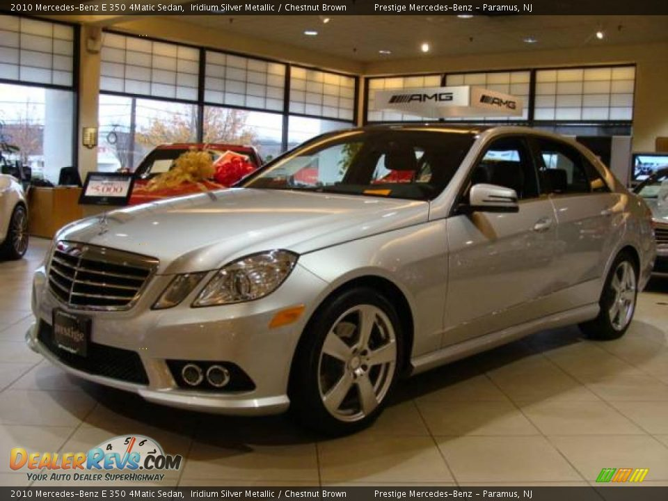 2010 mercedes benz e 350 4matic sedan iridium silver for 2010 mercedes benz e350 sedan