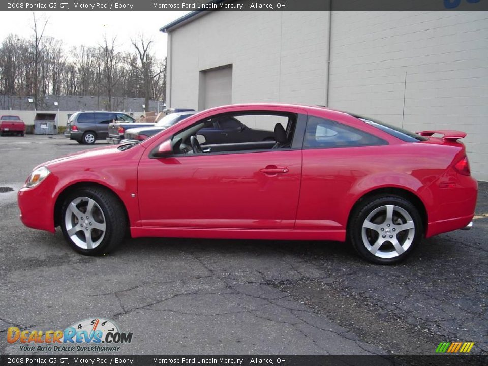 2008 pontiac g5 gt victory red ebony photo 2. Black Bedroom Furniture Sets. Home Design Ideas