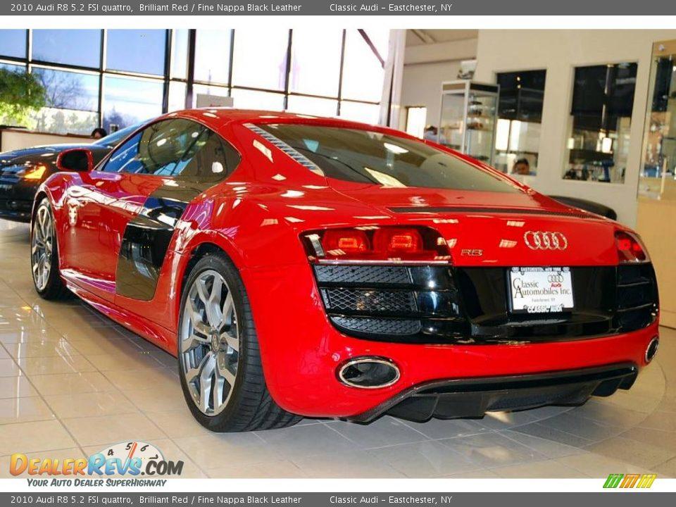 2010 Audi R8 5 2 Fsi Quattro Brilliant Red Fine Nappa