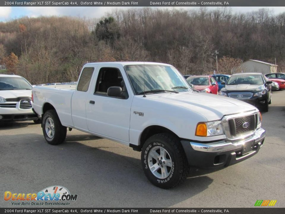 2004 ford ranger xlt sst supercab 4x4 oxford white medium dark flint photo 5. Black Bedroom Furniture Sets. Home Design Ideas