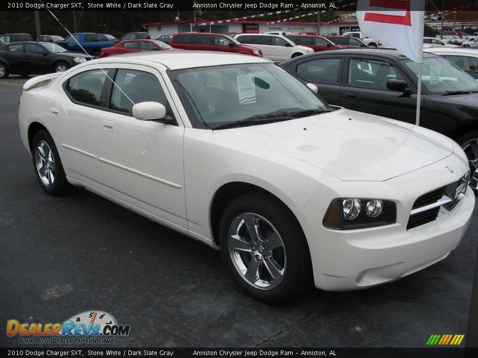 2010 dodge charger sxt stone white dark slate gray photo 1. Cars Review. Best American Auto & Cars Review