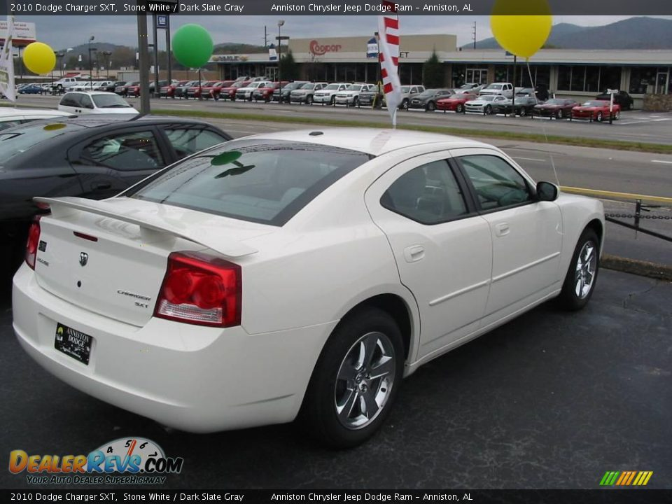 2010 dodge charger sxt stone white dark slate gray photo 3. Cars Review. Best American Auto & Cars Review