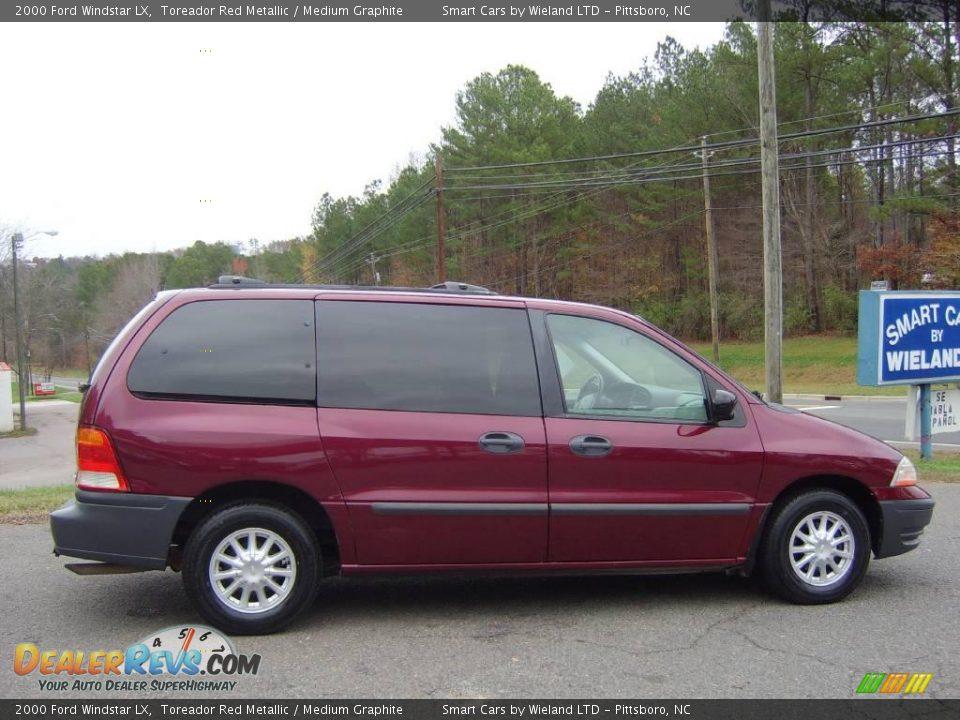 2000 Ford Windstar Lx Toreador Red Metallic Medium