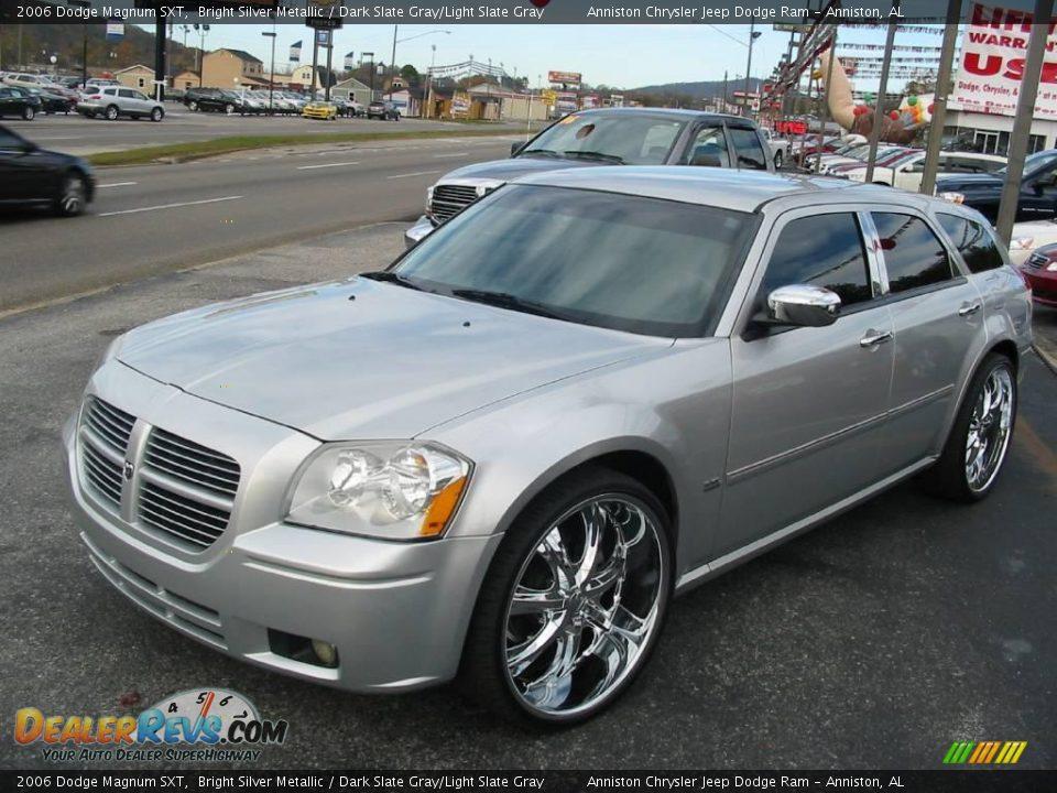 2006 Dodge Magnum Sxt Bright Silver Metallic Dark Slate