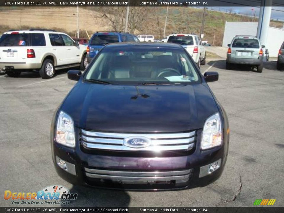 2007 ford fusion sel v6 awd dark amethyst metallic. Black Bedroom Furniture Sets. Home Design Ideas