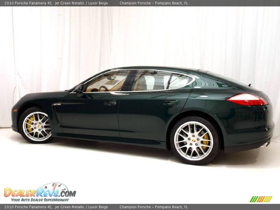 2010 Porsche Panamera 4s Jet Green Metallic Luxor Beige