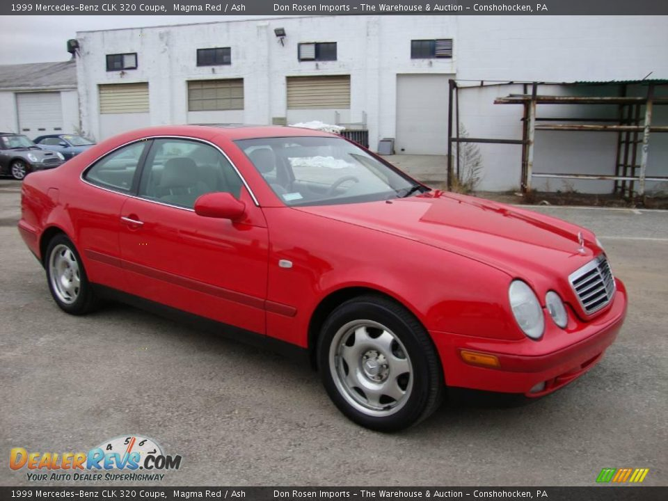 1999 Mercedes Benz Clk 320 Coupe Magma Red Ash Photo 5