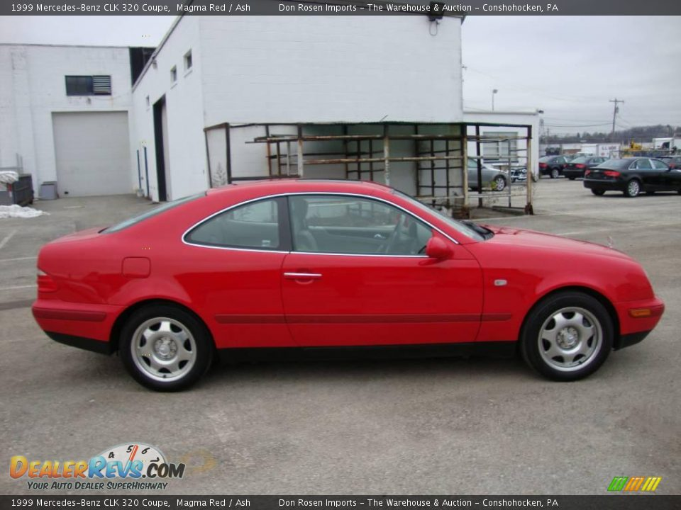 1999 Mercedes Benz Clk 320 Coupe Magma Red Ash Photo 6