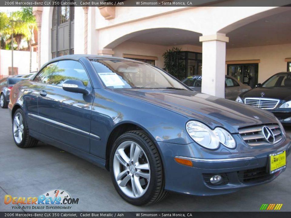 2006 mercedes benz clk 350 cabriolet cadet blue metallic for Mercedes benz 350 clk convertible