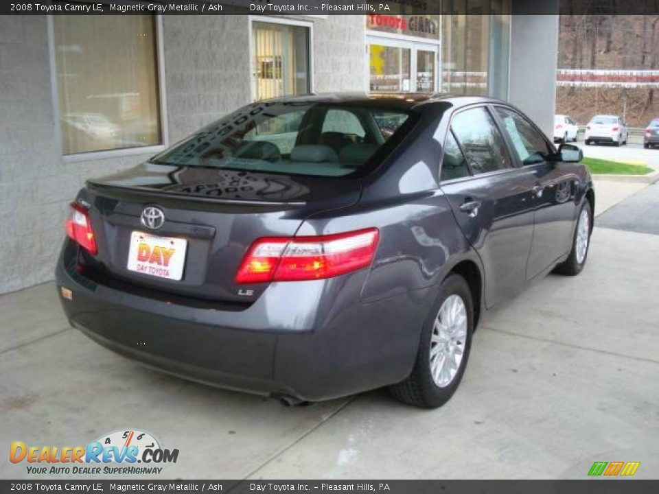 2008 toyota camry le magnetic gray metallic ash photo 2. Black Bedroom Furniture Sets. Home Design Ideas