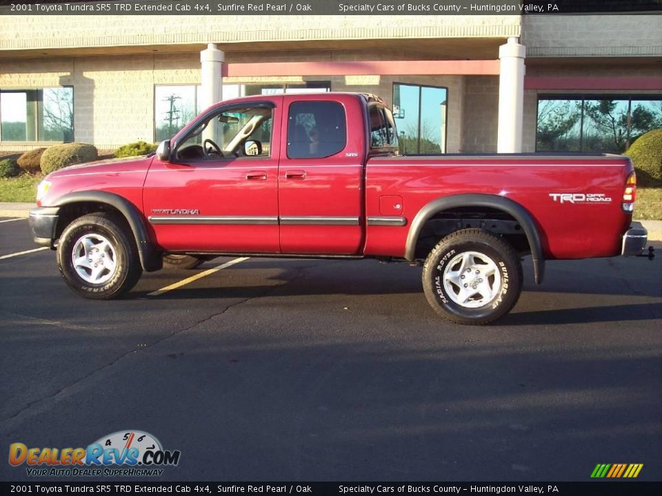 2001 Toyota Tundra Sr5 Trd Extended Cab 4x4 Sunfire Red